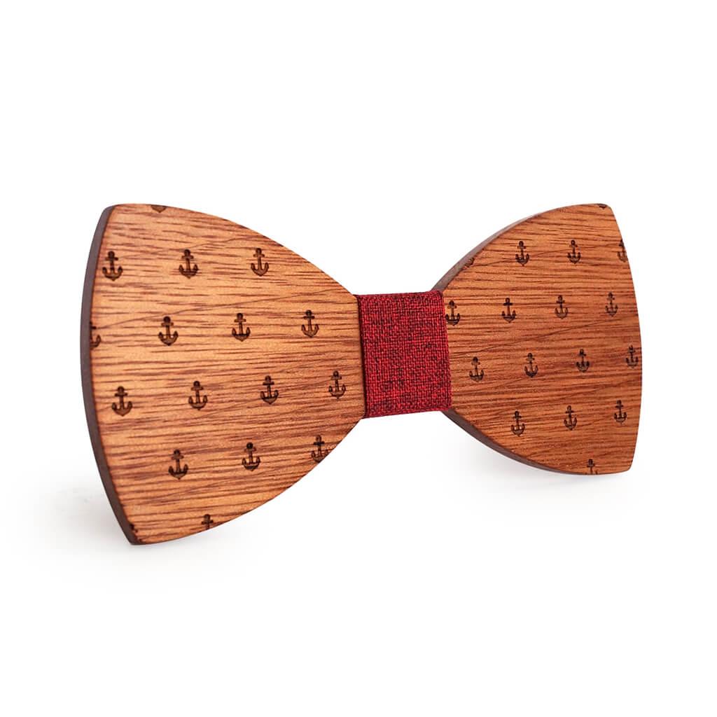 Muszka drewniana Kotwica Sparrow