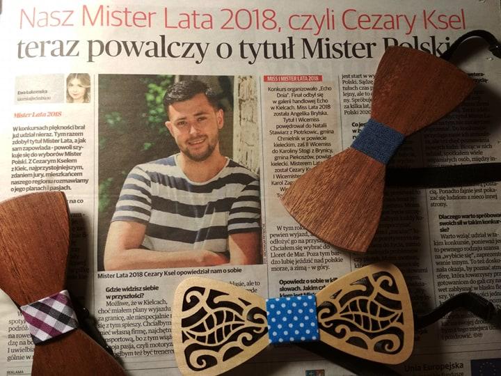 Mister Lata 2018 korzysta z naszych muszek