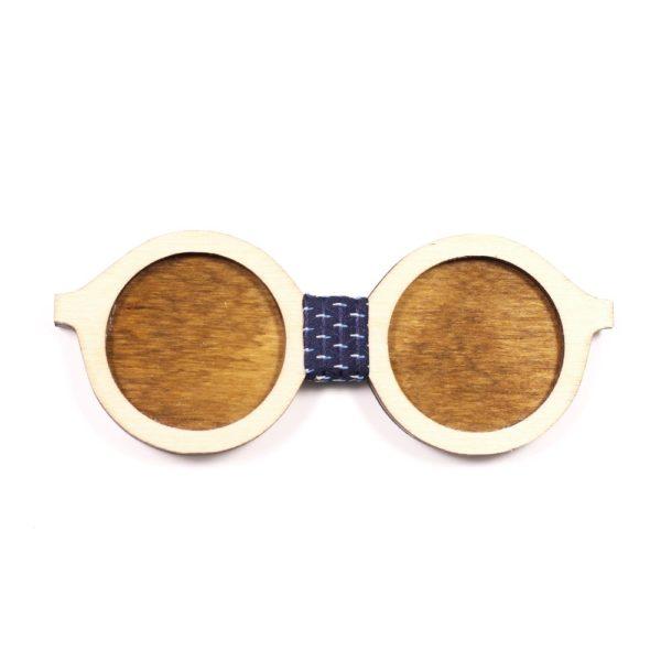 Muszka Drewniana Okulary 1 1