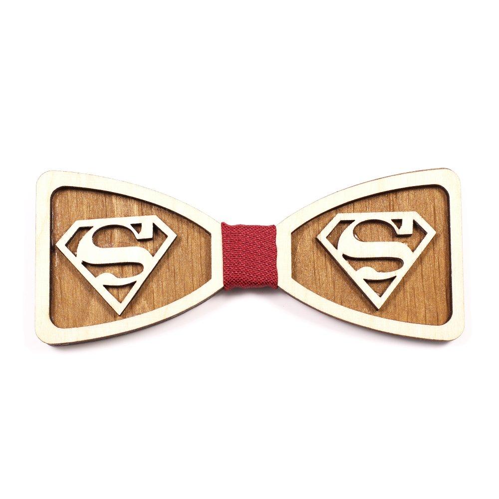 Muszka Drewniana Superman 2 1